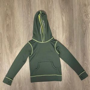 L.L. Bean Boys Pullover Hoodie Green Size Large